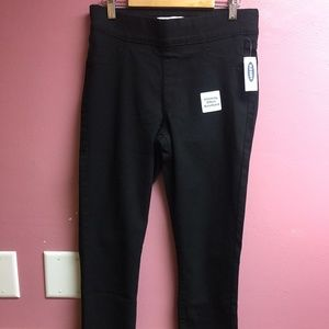Old Navy Super Skinny Jeggings Black Size 4 NWT